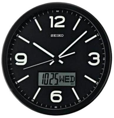 Seiko Пластиковые настенные интерьерные часы Seiko QXL010K